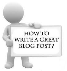 Creating Good Articles for your Blog
