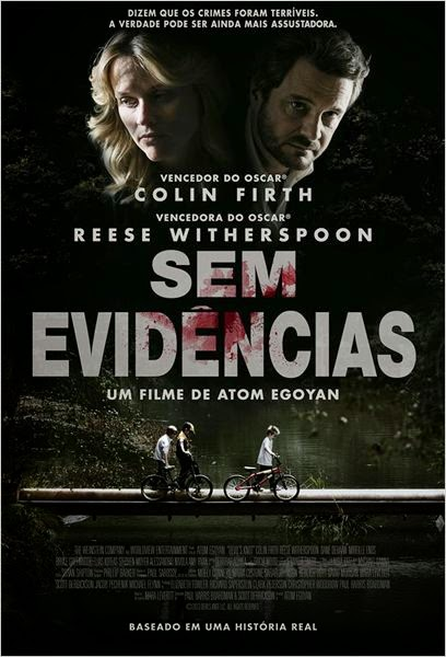 "Poster do filme ""Sem Evidências"""