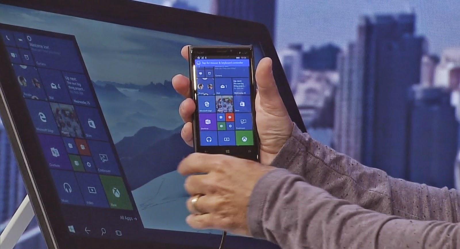 Continnum Windows 10