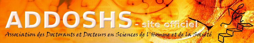 ADDOSHS - site officiel
