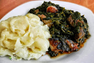 pounded yam, how to make pounded yam in a blender, nigerian yam recipe, nigerian food recipes, nigerian food