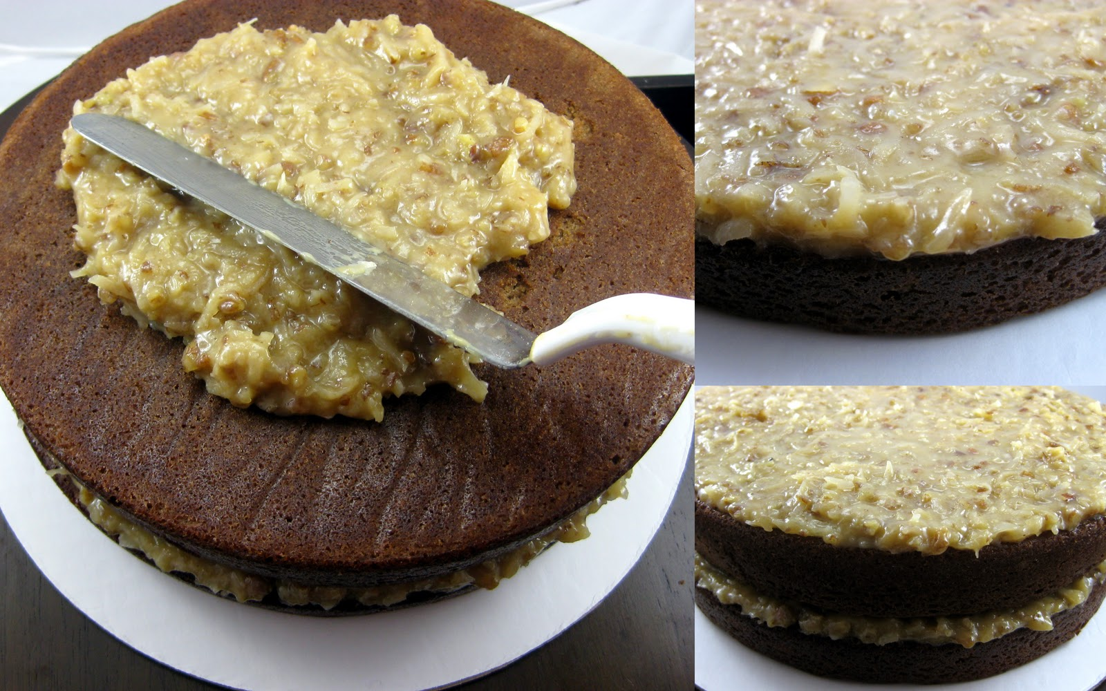 Karis' Kitchen | A Vegetarian Food Blog: 2-Layer German Chocolate Cake