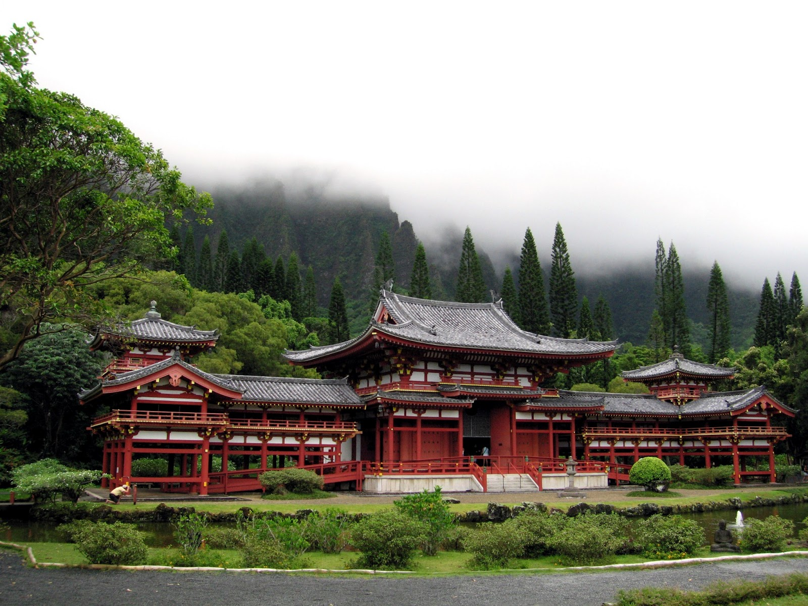 Traditional japanese temple for Home wallpaper japan