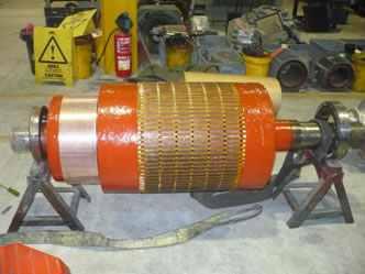 Armature winding of dc generator