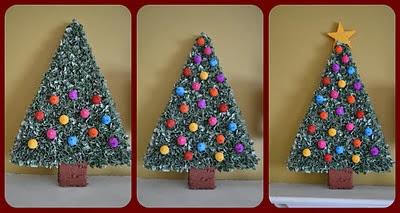 Manos a la obra como hacer un arbol de navidad con - Trabajos manuales de navidad para ninos ...