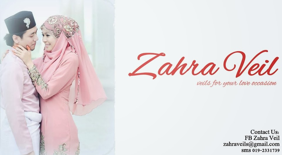 Zahra Veil - Veils for your love occasion