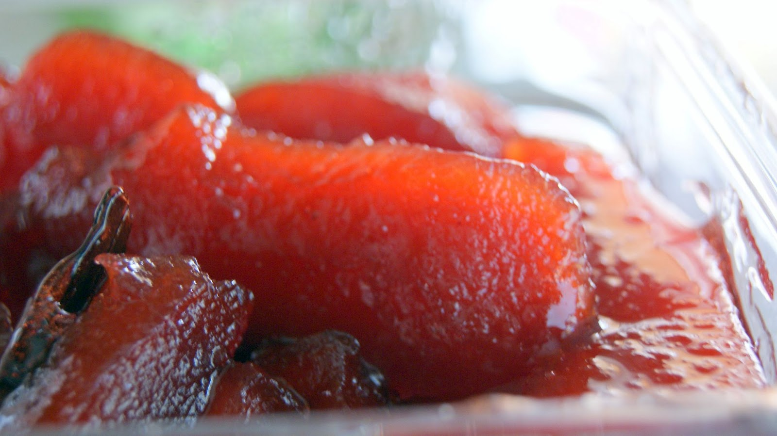Quince jam/preserve