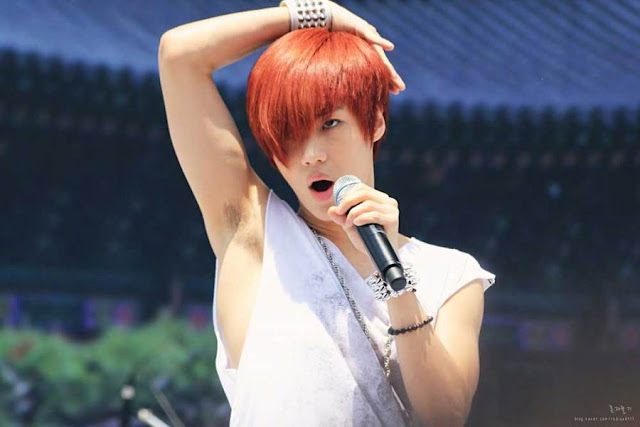 shinee taemin red hair 2011