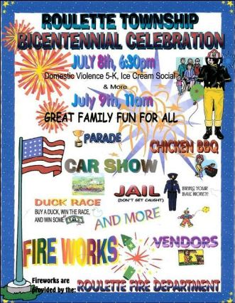 7-8/9 Roulette Bicentennial Celebration