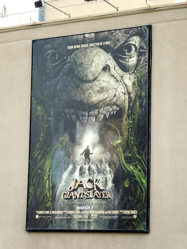 Jack Giant Slayer billboard WB Studios