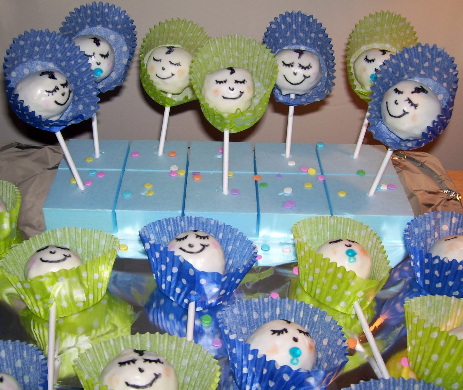 cooking creation baby shower cake pops