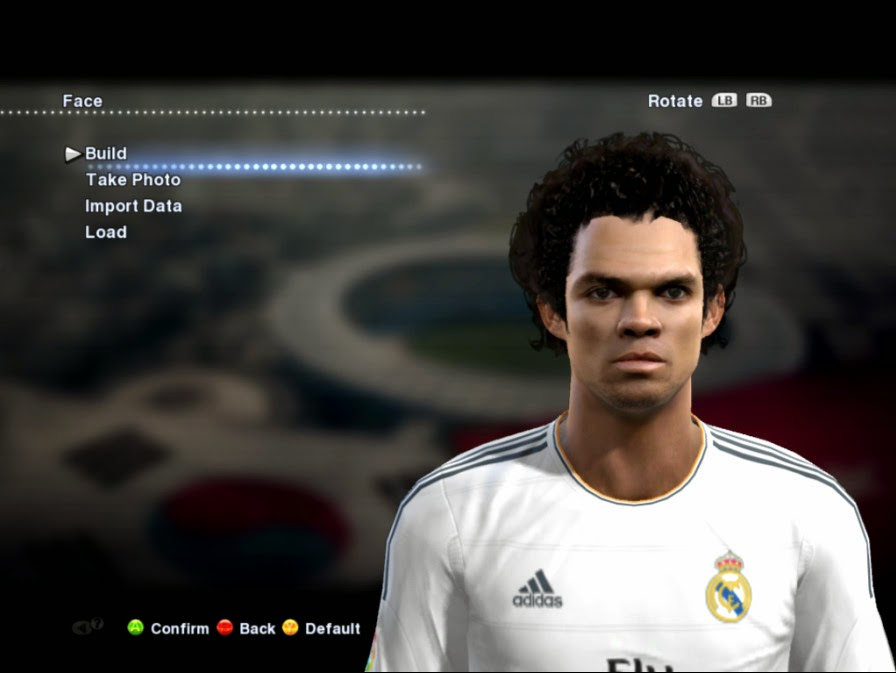 PES 2013 Pepe Face by Ludvan