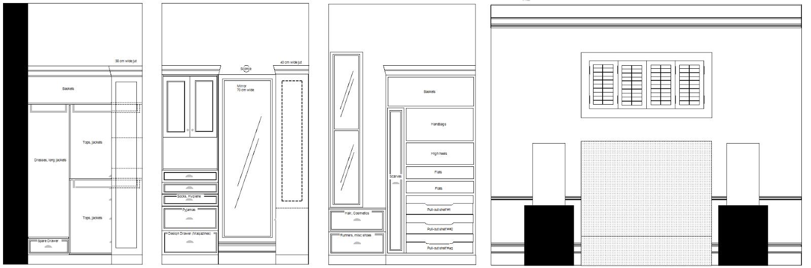 Casa almora for Bedroom wardrobe shutter designs
