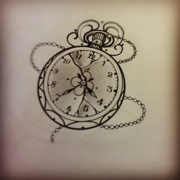 Miss juliet tattoo draw and life clock tattoo for Acchiappasogni disegno