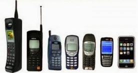 Fotos de telefonos celulares antiguos y modernos 42
