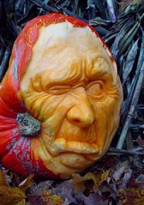 Gambar Bagus Seni Mengukir Buah Pumpkin
