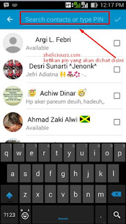 Cara Chat di BBM Tanpa Invite Pin BBM