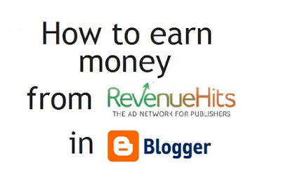 how to earn money from revenue hits in blogger