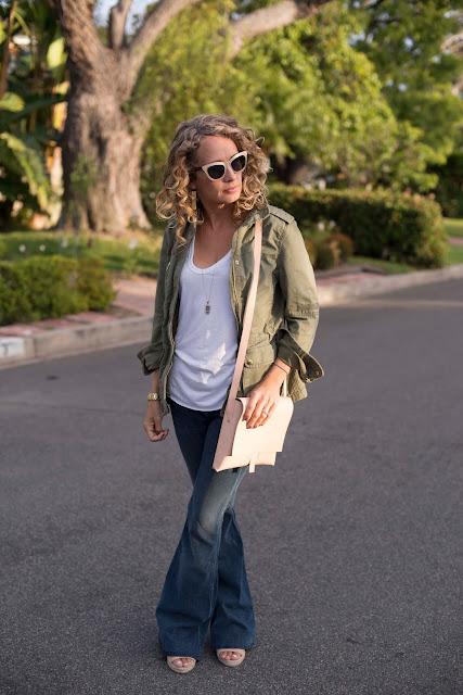 cateye sunglasses, messenger bag