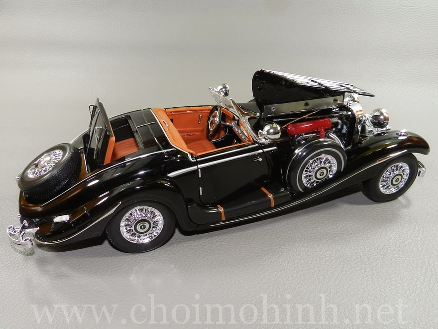 Mercedes-Benz 500 K TYP Specialroaster 1936 1:18 Maisto up