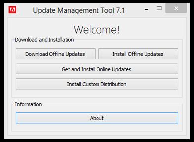 Adobe Update Management Tool 7.1