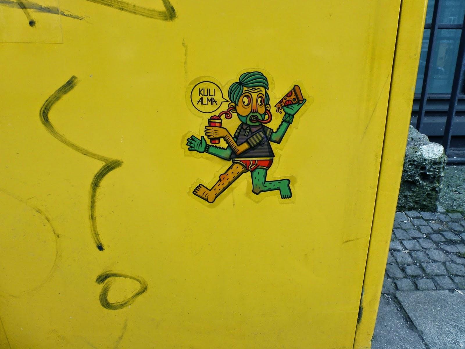 Sticker, Graffiti, Urbanart