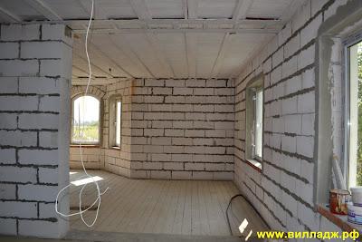 Первый этаж Солнечногорского дома, фото
