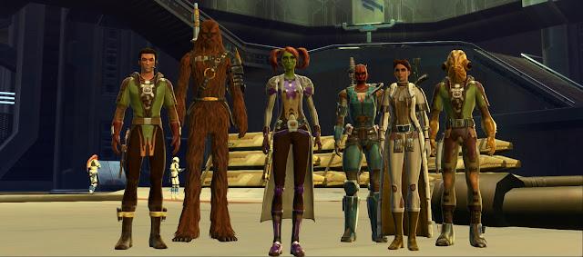 The Motley Crew of the *Pelikki*