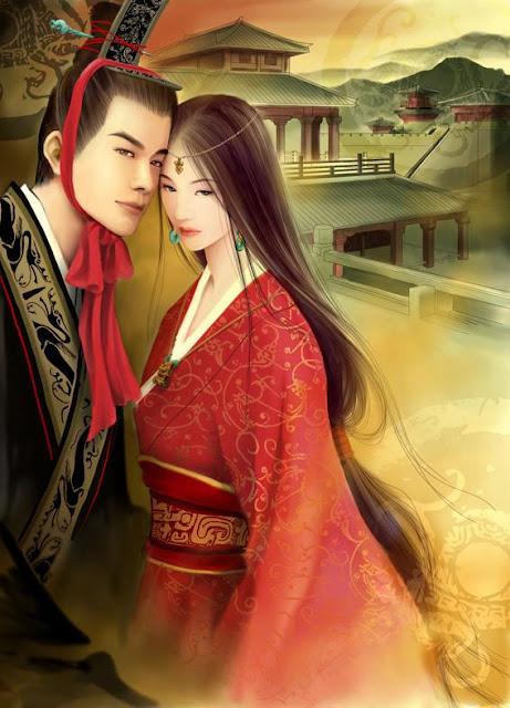 Digital Paintings by Qian Yu