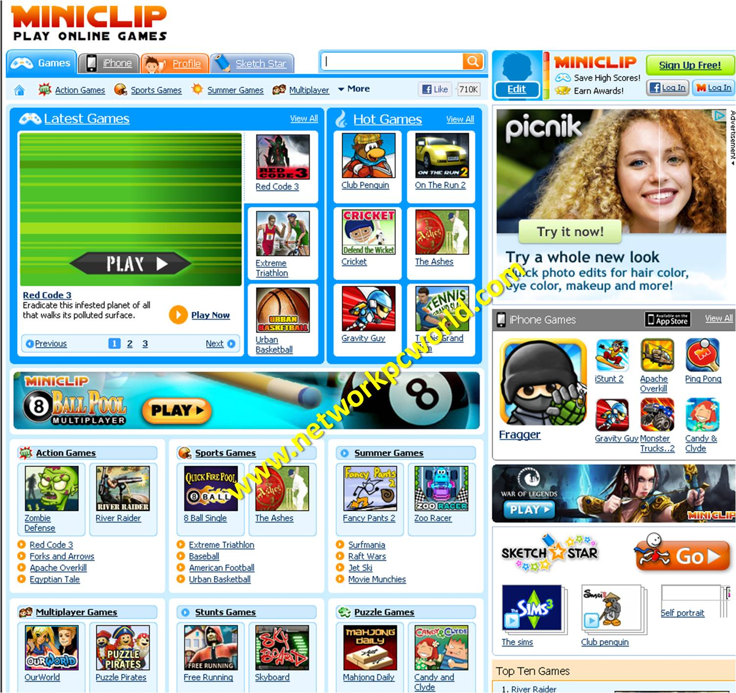 games at miniclips