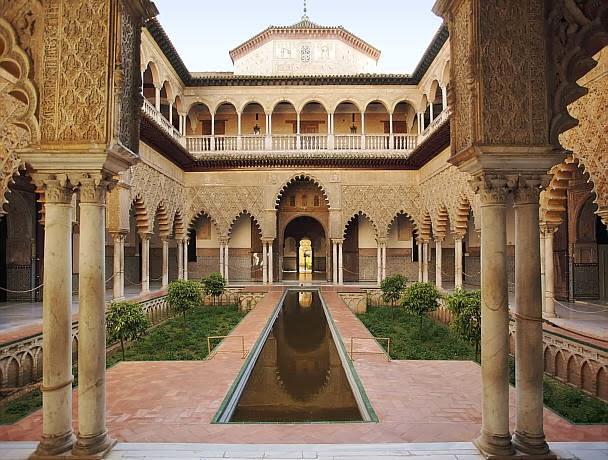 Interior del Alcázar de Sevilla