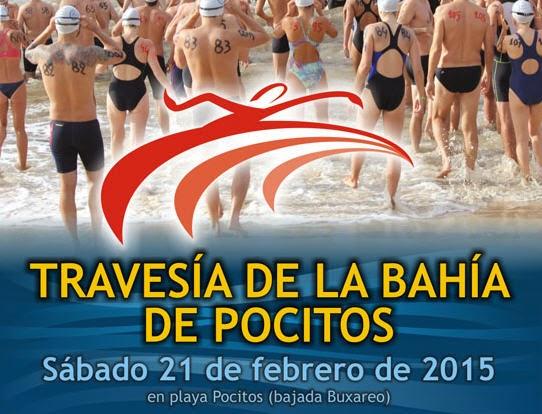 Natación - Travesía de la bahía de Pocitos (CBR, 21/feb/2015)