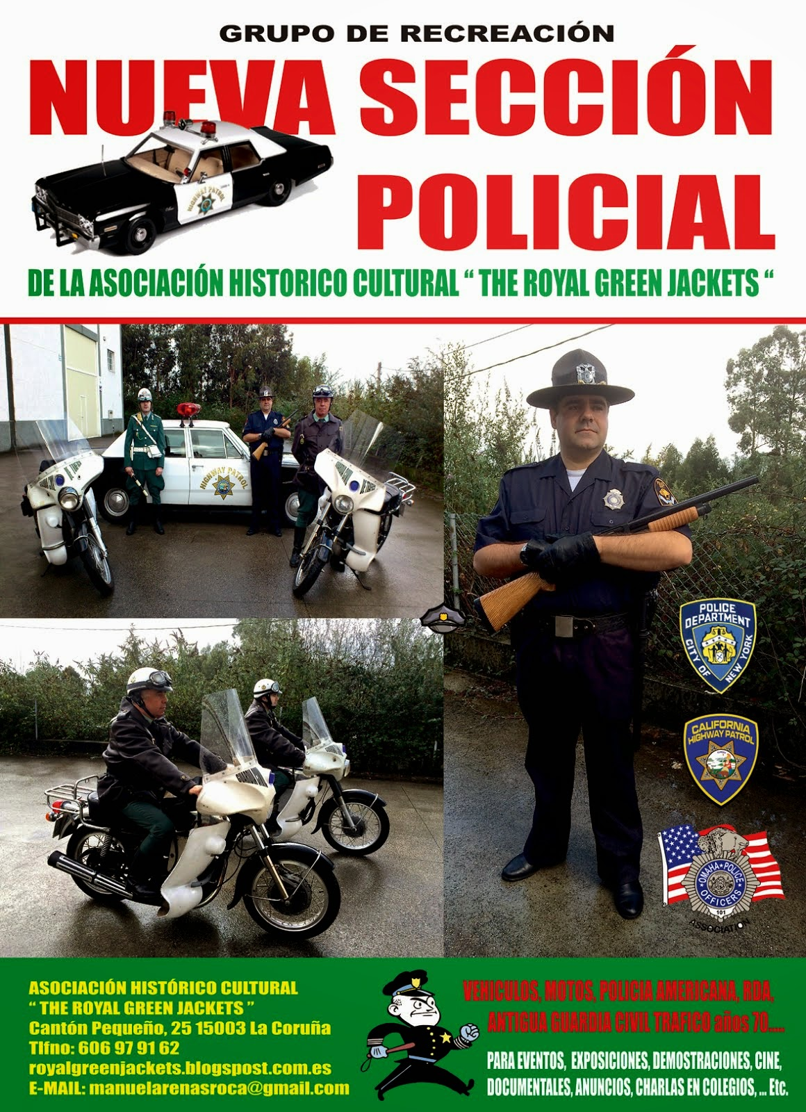 NUEVA SECCIÓN POLICIAL - GRUPO DE RECREACIÓN