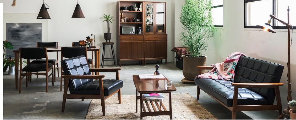 Motive 引進日本70年歷史的KARIMOKU家具外,還有英美日的雜貨、植栽和街頭服飾品牌。