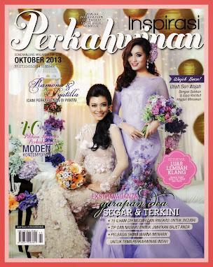 Cover Majalah Inspirasi Perkahwinan - October 2013