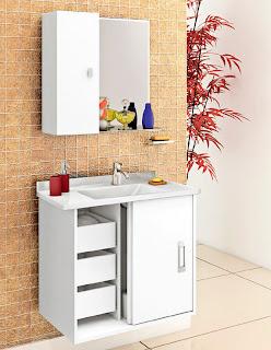 Gabinete para banheiro 9
