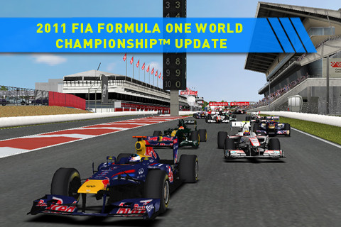F1 2011 Codemaster para iPhone 4S
