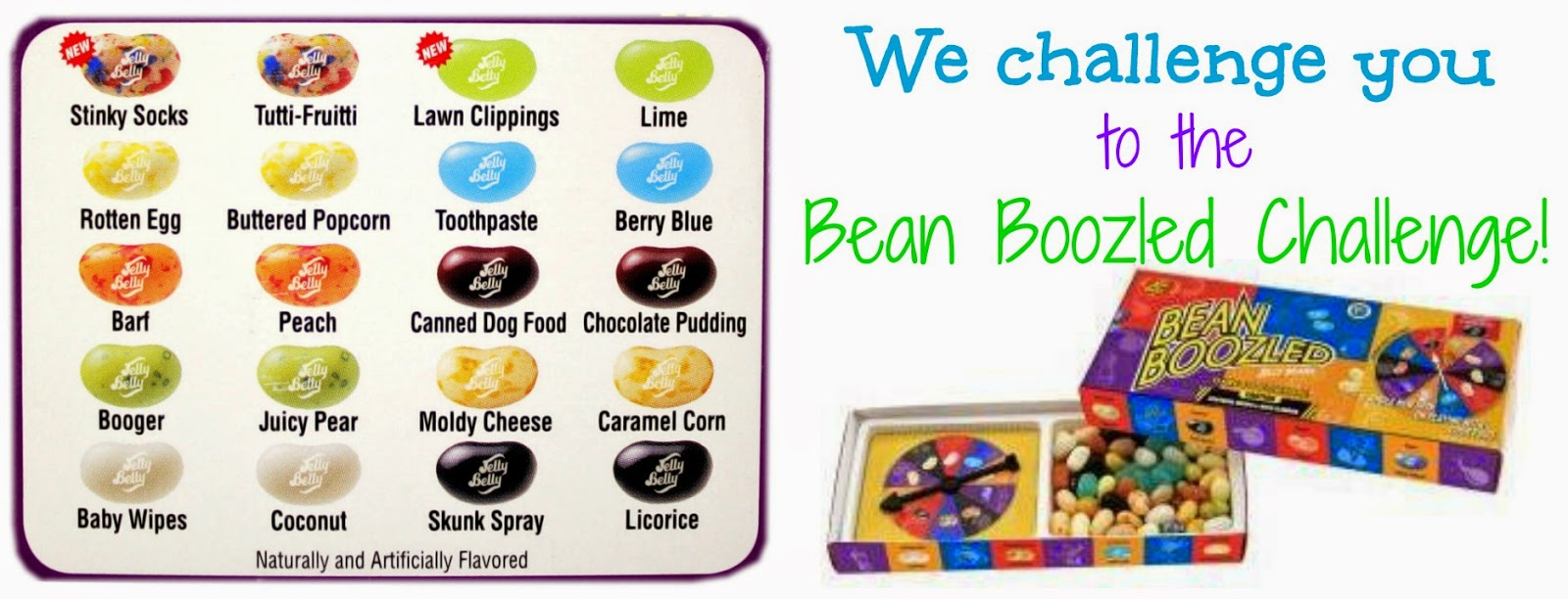 candy crate the bean boozled challenge
