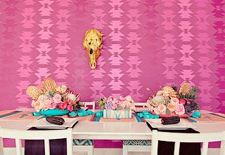 dekorasi+meja+pernikahan+warna+pink Dekorasi meja pernikahan