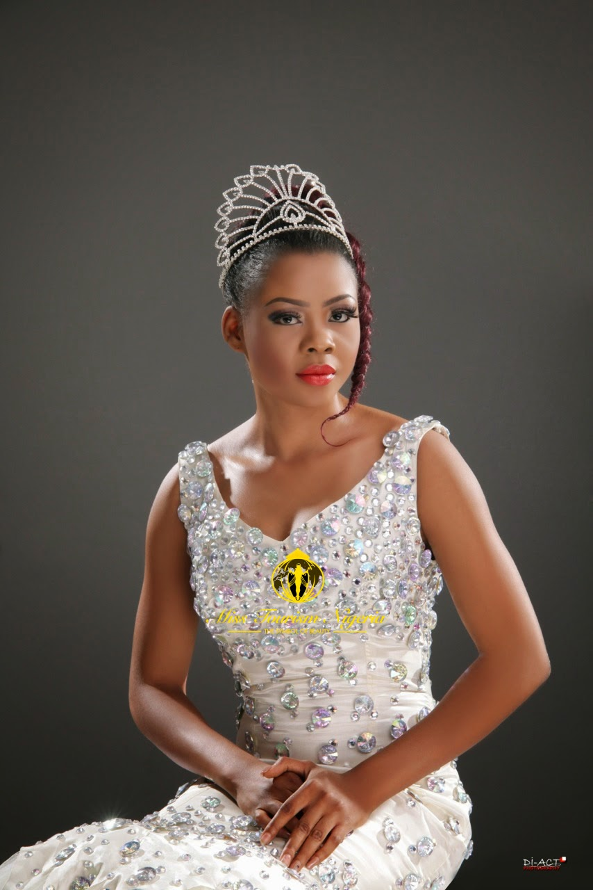Miss Tourism Nigerian 2014, Collete Nwadike 'Wows' In New Photos