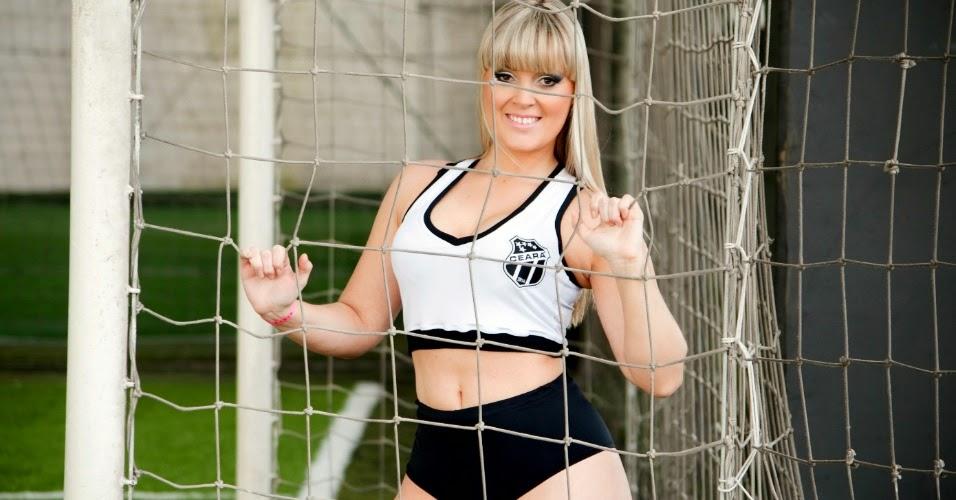 Desiree Emil Bela do Ceará Sporting Club no Belas da Torcida (2014)