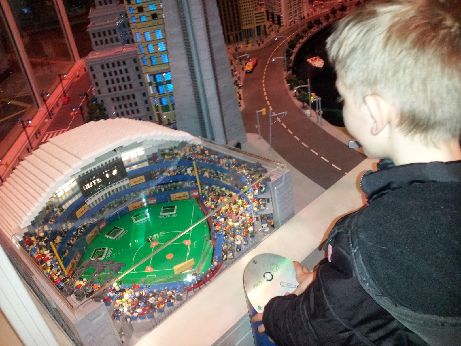 Legoland Miniland Lego Rogers Centre, Toronto, kids activities