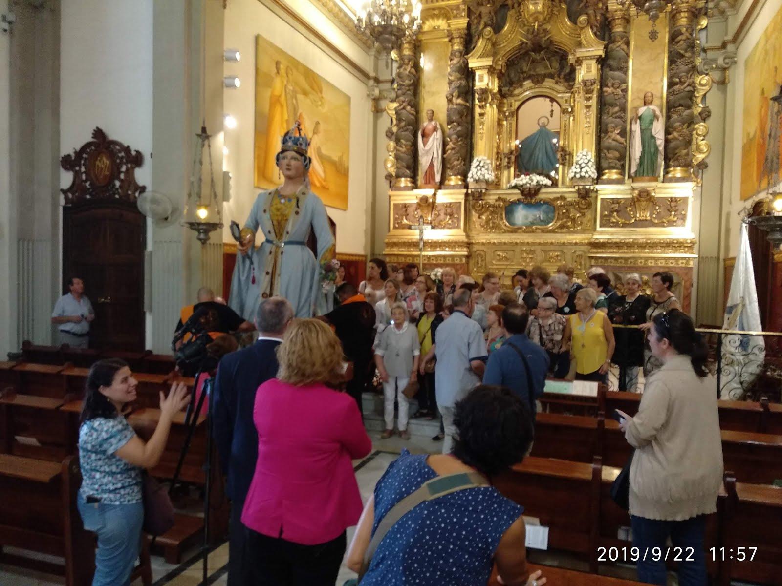 """39 Trobada del Grup de Misericòrdies de Reus i """"benedicció"""" de la geganta """"Misericòrdia"""""""