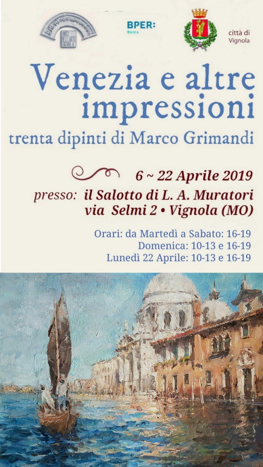 In mostra a Vignola, Aprile scorso