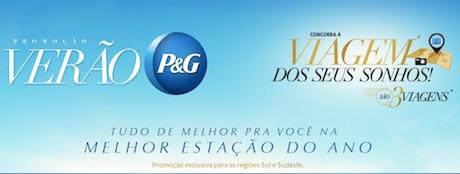 Participar da promoção P&G verão 2015