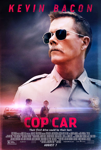 Cop Car Movie with Kevin Bacon