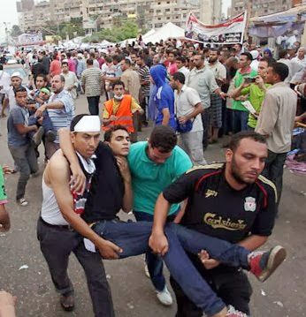 Pendukung Presiden Kudeta Mursi dan Polisi Mesir Bentrok, 51orang Tewas