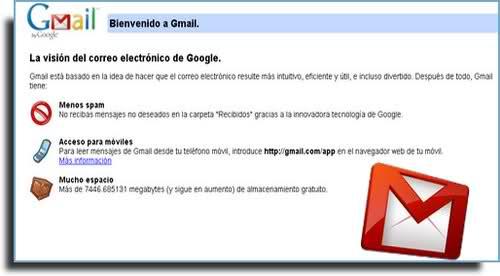 Registrarme en gmail.com