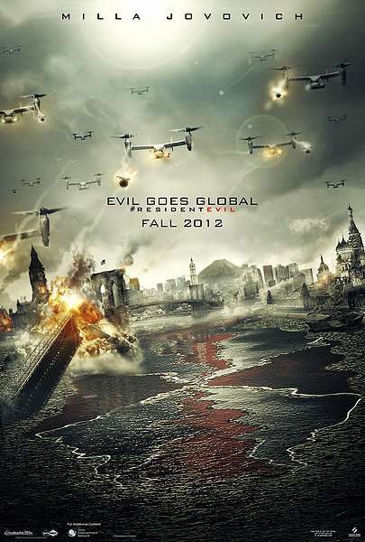 resident evil - retribution, 3d