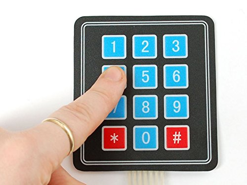 Arduino your home environment using a keypad